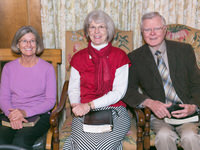 Marilyn Gustafson, LeAnn and Bob Knipple