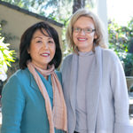 Susan Cho and Iris Mamier