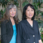 Rita Wheeler and Susan Cho
